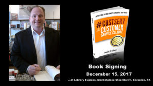 Book signing Dennis Gilbert