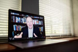 Virtual Dennis Gilbert Speaker Trainer